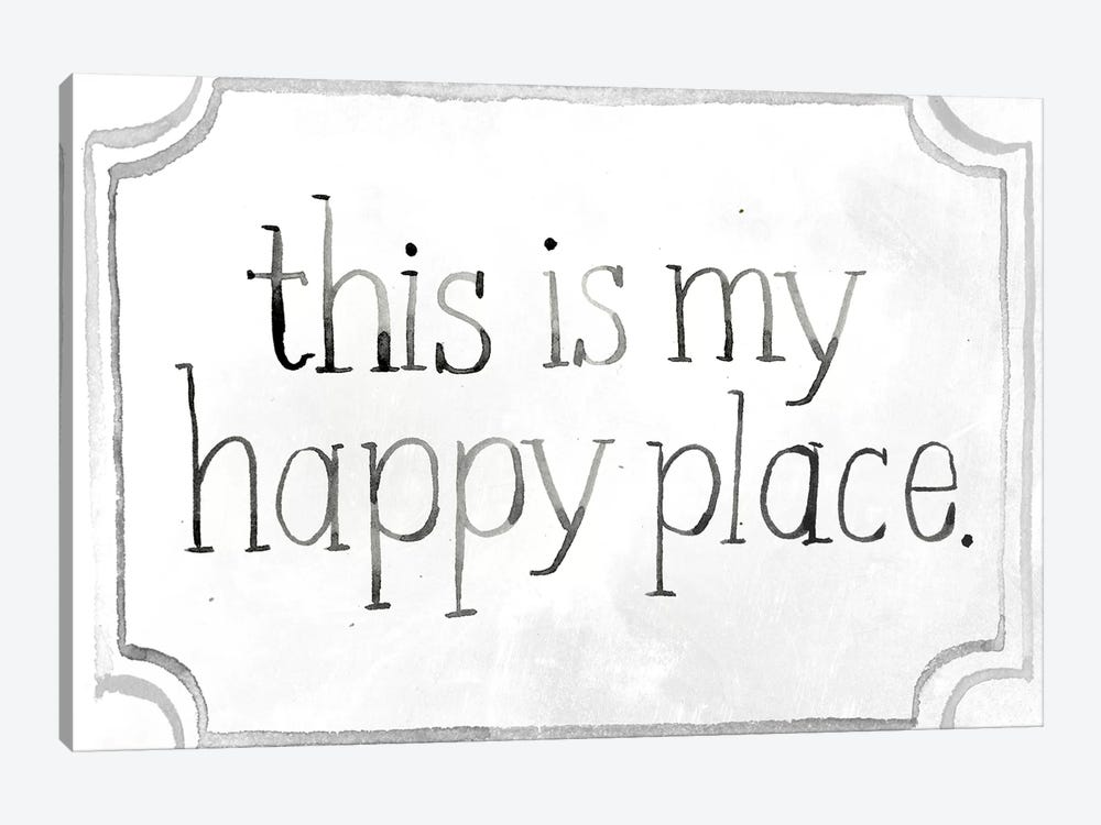 Homemade Happy II by Jennifer Paxton Parker 1-piece Canvas Print