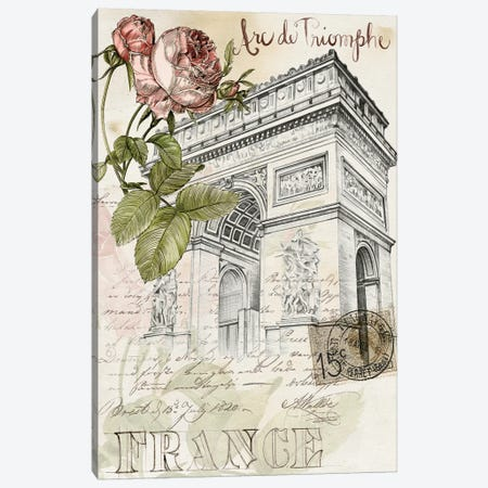 Paris Sketchbook II Canvas Print #JPP12} by Jennifer Paxton Parker Canvas Art