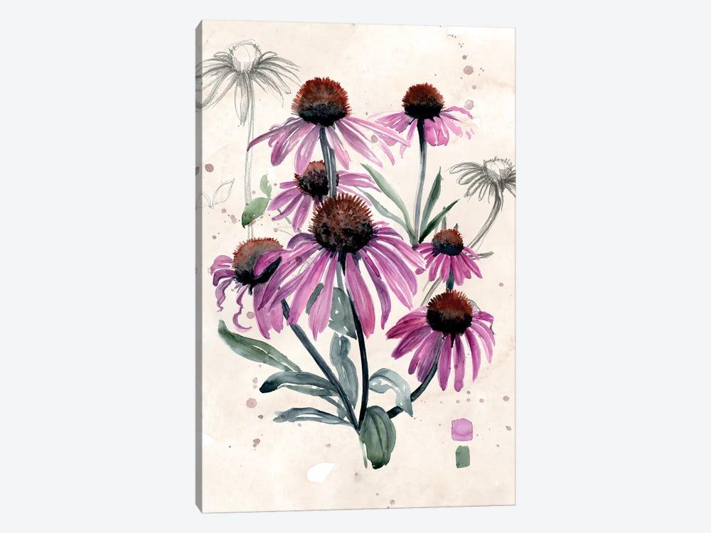 Purple Wildflowers I by Jennifer Paxton Parker 1-piece Canvas Art Print