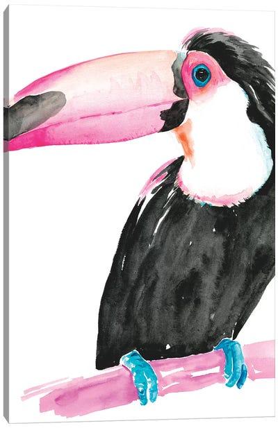 Technicolor Toucan II Canvas Art Print