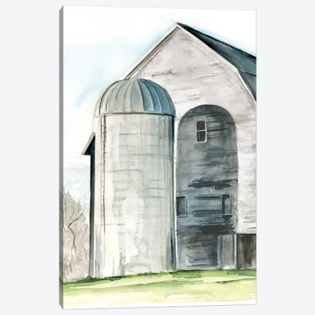 Weathered Barn I Canvas Print #JPP151} by Jennifer Paxton Parker Canvas Wall Art