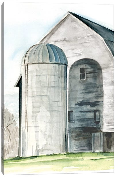 Weathered Barn I Canvas Art Print