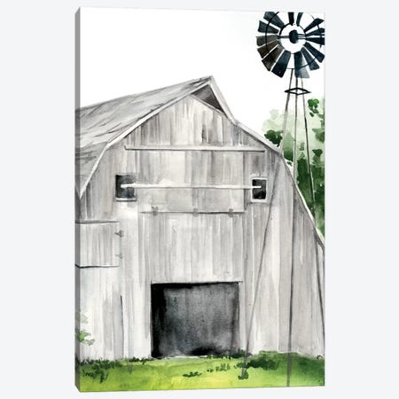 Weathered Barn II Canvas Print #JPP152} by Jennifer Paxton Parker Canvas Wall Art
