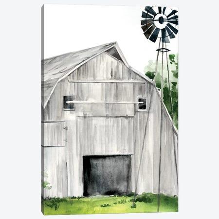 Weathered Barn II Canvas Print #JPP152} by Jennifer Paxton Parker Canvas Wall Art