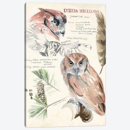 Wildlife Journals I Canvas Print #JPP153} by Jennifer Paxton Parker Canvas Artwork