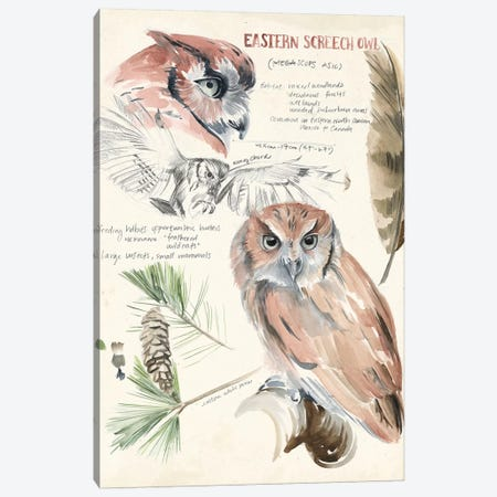 Wildlife Journals I Canvas Print #JPP153} by Jennifer Paxton Parker Canvas Artwork