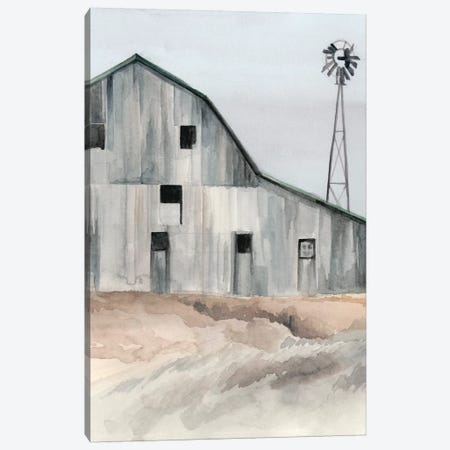 Winter Barn I Canvas Print #JPP157} by Jennifer Paxton Parker Canvas Print