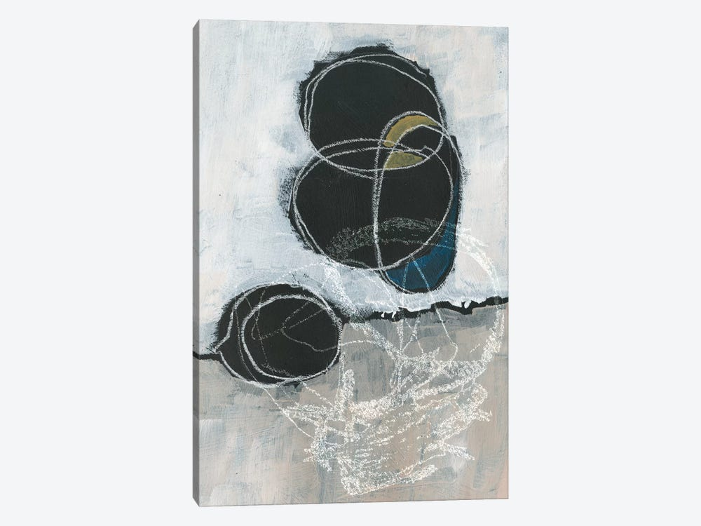 Primary Orbs I by Jennifer Paxton Parker 1-piece Canvas Wall Art