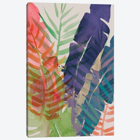 Electric Palms I Canvas Print #JPP161} by Jennifer Paxton Parker Art Print