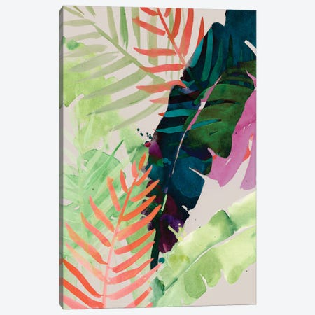 Electric Palms II 3-Piece Canvas #JPP162} by Jennifer Paxton Parker Canvas Print
