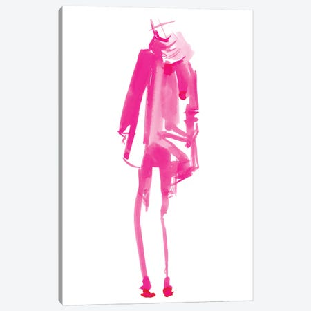 Fuchsia Street Fashion III Canvas Print #JPP165} by Jennifer Paxton Parker Canvas Art