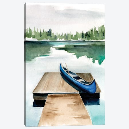 Lake Views I 3-Piece Canvas #JPP173} by Jennifer Paxton Parker Canvas Wall Art