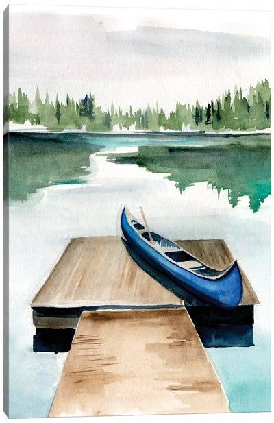 Lake Views I Canvas Art Print