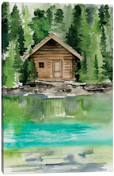 Lake Views II Canvas Art Print