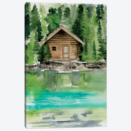 Lake Views II 3-Piece Canvas #JPP174} by Jennifer Paxton Parker Art Print