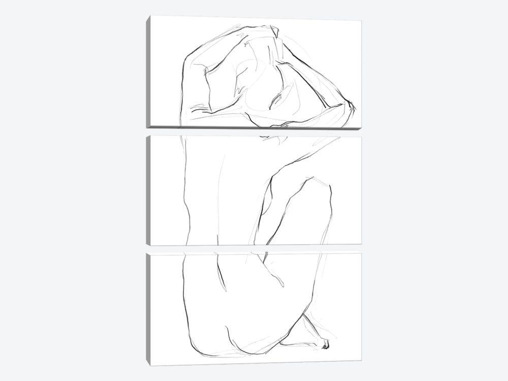 Muse I by Jennifer Paxton Parker 3-piece Canvas Print