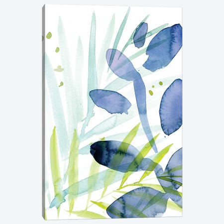 Queen Palms I Canvas Print #JPP17} by Jennifer Paxton Parker Canvas Art Print