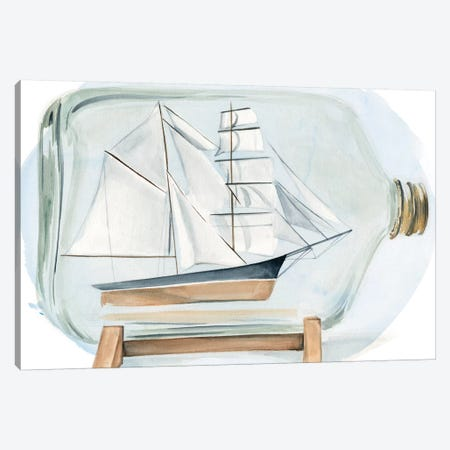 Sail the Seas I Canvas Print #JPP187} by Jennifer Paxton Parker Canvas Artwork