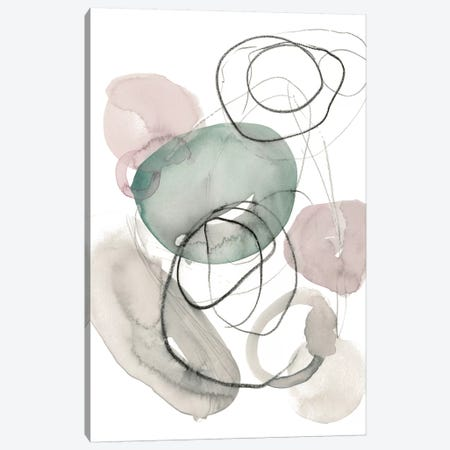Sea Glass Stack I Canvas Print #JPP191} by Jennifer Paxton Parker Canvas Artwork
