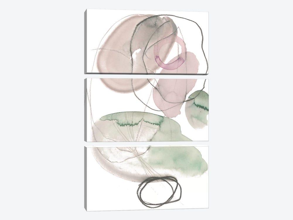Sea Glass Stack III by Jennifer Paxton Parker 3-piece Canvas Art Print