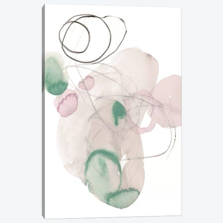 Sea Glass Stack IV Canvas Print #JPP194} by Jennifer Paxton Parker Art Print
