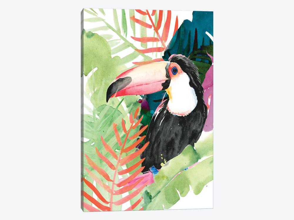 Toucan Palms I by Jennifer Paxton Parker 1-piece Canvas Print
