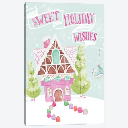 Candy Christmas I Canvas Print #JPP207} by Jennifer Paxton Parker Canvas Art Print