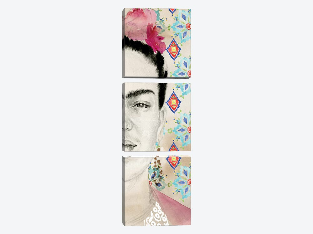 Frida Diptych I by Jennifer Paxton Parker 3-piece Canvas Art