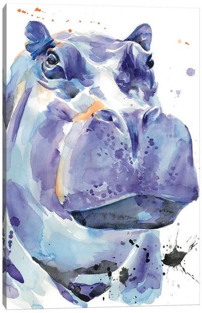 Ultra Violet Safari I Canvas Art Print