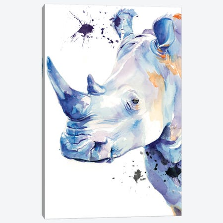 Ultra Violet Safari II Canvas Print #JPP214} by Jennifer Paxton Parker Canvas Wall Art