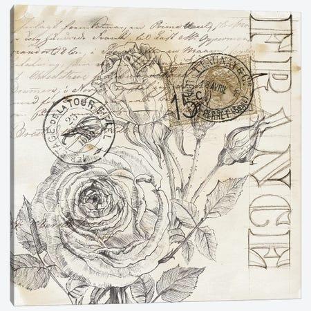 Rose Romance III Canvas Print #JPP21} by Jennifer Paxton Parker Canvas Print