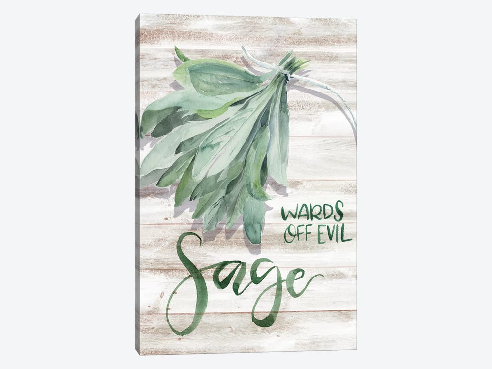 Green Witch III by Jennifer Paxton Parker 1-piece Canvas Art Print
