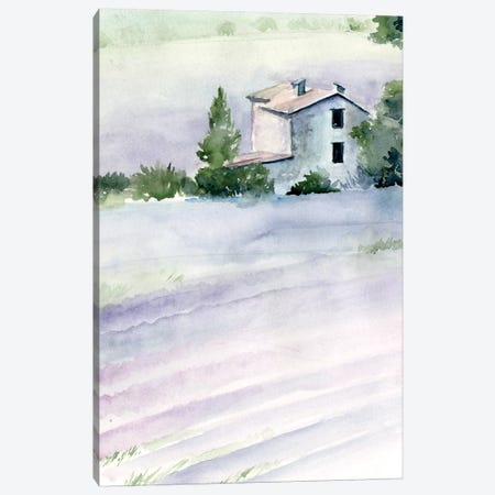Lavender Fields II Canvas Print #JPP223} by Jennifer Paxton Parker Canvas Art