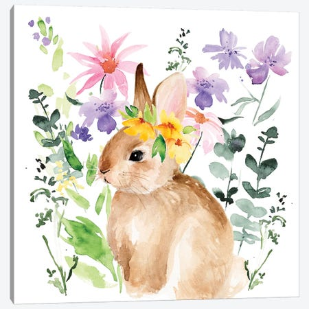 Watercolor Spring Garden I Canvas Print #JPP230} by Jennifer Paxton Parker Canvas Print