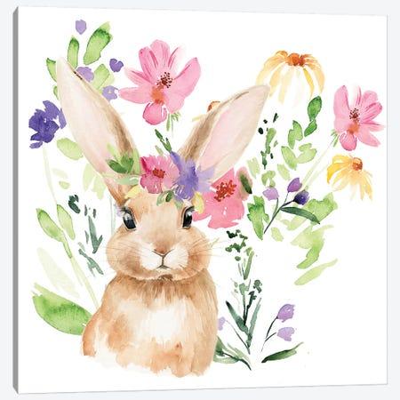 Watercolor Spring Garden II Canvas Print #JPP231} by Jennifer Paxton Parker Art Print