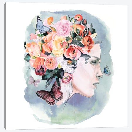 Floral Locks II Canvas Print #JPP238} by Jennifer Paxton Parker Art Print