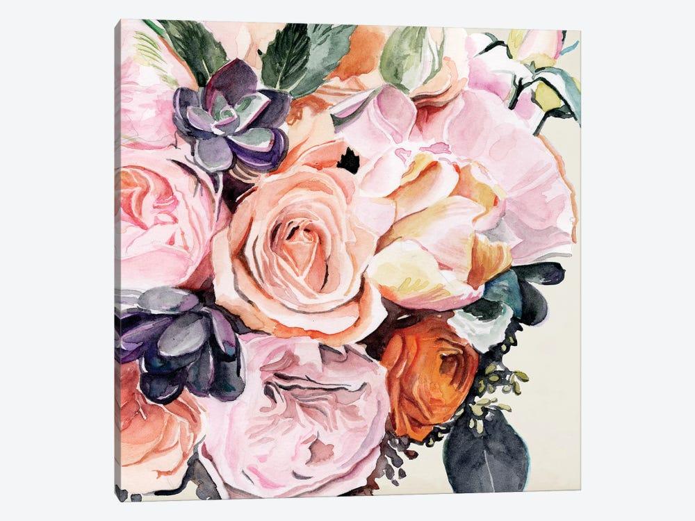 Autumn Bouquet I by Jennifer Paxton Parker 1-piece Canvas Art