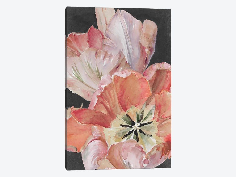 Pastel Parrot Tulips I by Jennifer Paxton Parker 1-piece Canvas Art Print