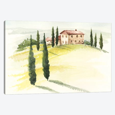 Tuscan Villa I Canvas Print #JPP25} by Jennifer Paxton Parker Canvas Artwork