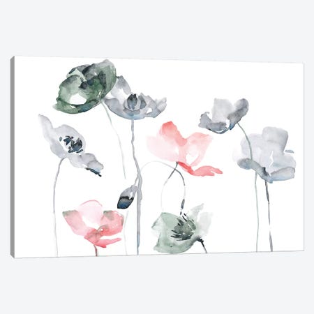 Poppy Haze II 3-Piece Canvas #JPP260} by Jennifer Paxton Parker Canvas Wall Art