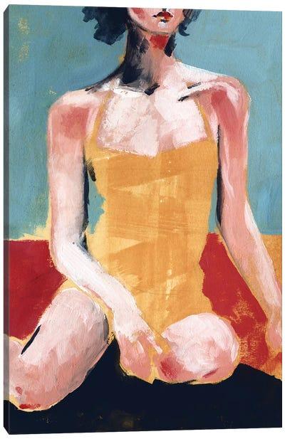 Vintage Swim I Canvas Art Print