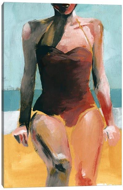 Vintage Swim II Canvas Art Print