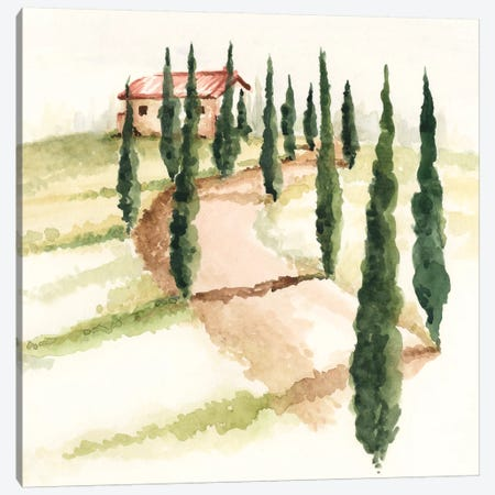 Tuscan Villa III Canvas Print #JPP27} by Jennifer Paxton Parker Canvas Art
