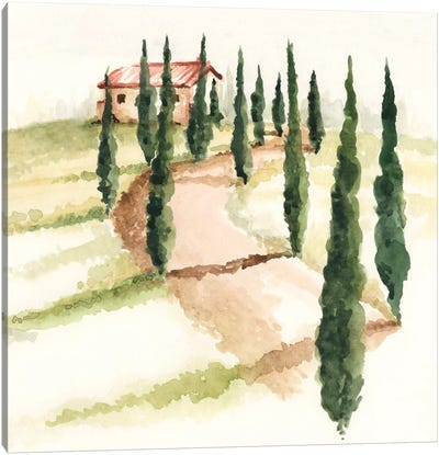 Tuscan Villa III Canvas Art Print