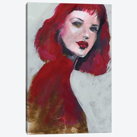 Fem Portrait I Canvas Print #JPP280} by Jennifer Paxton Parker Canvas Art