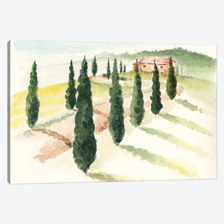 Tuscan Villa IV Canvas Print #JPP28} by Jennifer Paxton Parker Canvas Print
