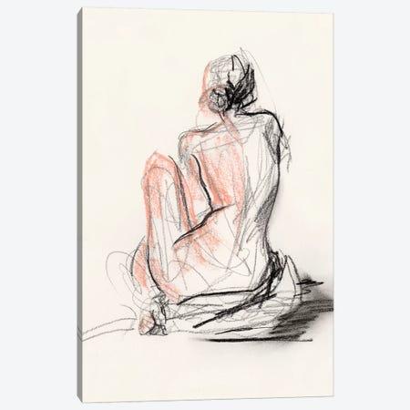 Figure Gesture II 3-Piece Canvas #JPP296} by Jennifer Paxton Parker Canvas Wall Art