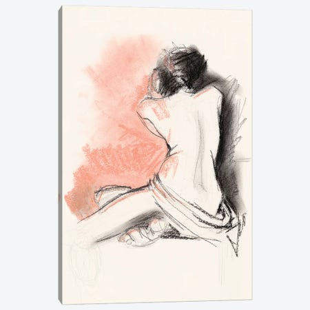 Figure Gesture III Canvas Print #JPP297} by Jennifer Paxton Parker Canvas Wall Art