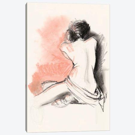 Figure Gesture III 3-Piece Canvas #JPP297} by Jennifer Paxton Parker Canvas Wall Art