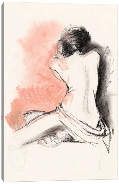 Figure Gesture III Canvas Art Print